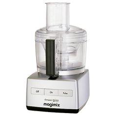 Magimix 3200 BlenderMix Food Processor, Brushed Steel