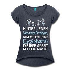 Tagesmutter Mit Liebe Lebensfrohe Kinder Tasse einfarbig von Spreadshirt®