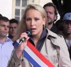 Allez Marion Maréchal-Le Pen ! Vive la France !