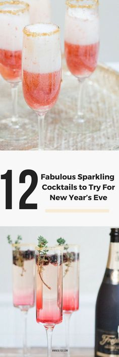 12 Sparkling cocktails to try for new years eve