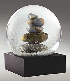 "One of the most beautiful ""snow"" globes I've ever seen."