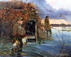 My First Limit Boy Duck Hunting Print Signed Numbered Print By R. Mcdonald in Art, Art from Dealers & Resellers, Prints Hunting Art, Duck Hunting, Hunting Dogs, Hunting Stuff, Hunting Drawings, Duck Art, Waterfowl Hunting, Hunting Pictures, Rare Birds