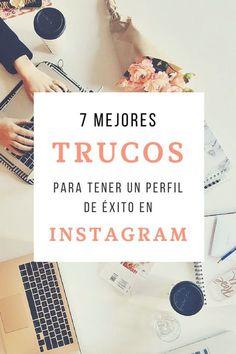 Descubre los mejores trucos para tener un perfil de éxito en Instagram   Marketing Tips   Instagram Tips   #instagram #marketingtips #emprendedores #artesania #hechoamano #españa
