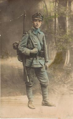 WWI Austrian soldier