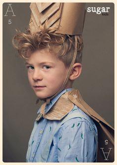 Arnau from Sugar Kids for La Petite Magazine by Eva Bozzo.