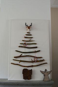 X-mas decoration: Branches tree