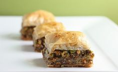 Pistachio Baklava with Cinnamon Honey Syrup by firstlookthencook #Baklava #Pistachio #firstcookthenlook