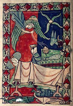 DITE BUON NATALE CON UNA MINIATURA MEDIEVALE http://www.foliamagazine.it/wp-content/uploads/2013/10/Salterio-terzo-quarto-del-XIII-secolo-Bodleian-Library.jpg