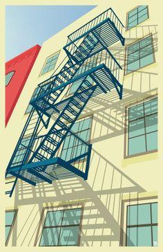 """Greenwich Village New York City"" by Remko Gap Heemskerk"