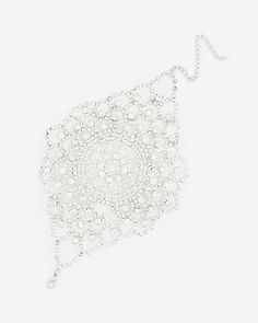 LE CHÂTEAU: Gem Cuff Bracelet