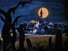 Animation Backgrounds: TRICK OR TREAT