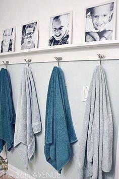 22 idées pour ranger et présenter vos serviettes joliment - Page 3 sur 3 - Des idées