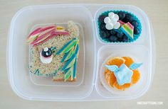 Rainbow Dash - My Little Pony lunch box | packed in @EasyLunchboxes