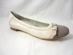 NEW As seen in Elle International   AGL Shoe Taupe Ivory Got this pair, too. Thanks, Nordstrom! Perfect for summering.