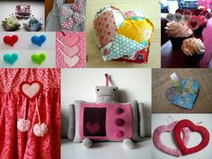 DIY craft heart projects