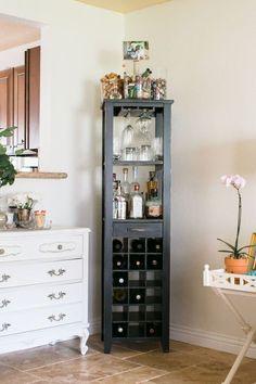 Kitchen corner bar shelves 66 ideas for 2019 Decor, Bars For Home, Bar Shelves, House Interior, Interior, Home Decor, Bar Cabinet Furniture, Cabinet Furniture, Furniture