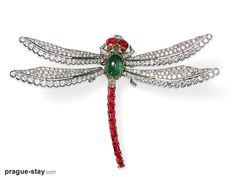 Cartier at Prague Castle | Dragonfly Pin