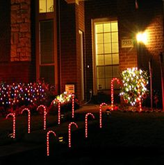 Light your walkway or driveway with these Prextex Christmas Candy Cane Pathway Markers Set of 10 Christmas Indoor/Outdoor Decoration Lights. Indoor Christmas Lights, Christmas Light Show, Holiday Lights, All Things Christmas, Merry Christmas, Christmas Time, Christmas Ideas, Classy Christmas, Christmas Candy Cane Decorations