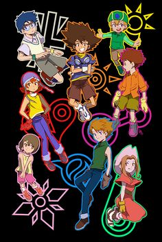 doodlebugdebz: doodlebugdebz: Children and crests parody of the new tri promo poster couldn't resist Digimon Adventure Tri, Pokemon Vs Digimon, Digimon Crests, Digimon Tamers, Arte Final Fantasy, Digimon Seasons, Pokemon Dragon, Nostalgia Art, Monsters