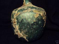 Roman Glass Large Bottle C.200 BC