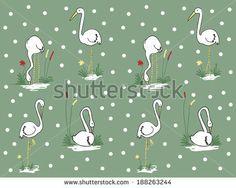 pattern of stork