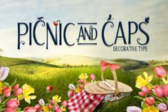 Picnic Caps - Creative Fabrica