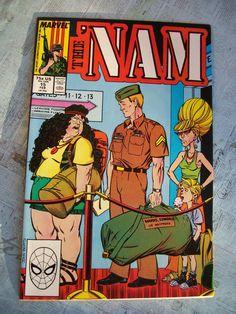 Vintage Marvel Comics Group The 'NAM Vol. 1 No. by GadzooksGladys