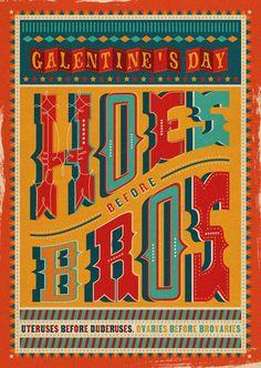 February 13: Galentine's Day