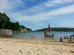 South Sands beach,  Salcombe Photo by Helen Lecomber