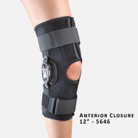 Hely and Weber Velocity Hinged Knee Brace Large 12 Anterior Closure * Find out more about the great product at the image link.
