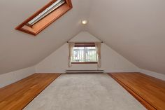attic remodel! This could be my hiding spot!! I'm going to have to climb up there & assess the situation!