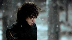 Freaking Kylo Ren... lookin all cute in the snow