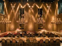 Buddakan Restaurant (Carrie and Mr. Big's Engagement Dinner location)