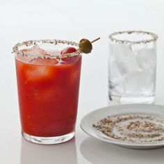 Peri-Peri Fennel Bloody Mary with Vodka-Infused Tomatoes