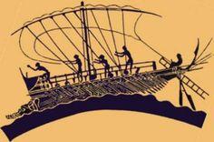 ...dei remi facemmo ali al folle volo....- LA NAVE DI ULISSE – VASO GRECO DEL IV SEC. CA. A. C.