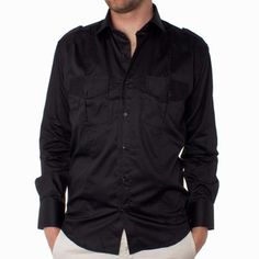 Bespoke 41 Shirt Black now featured on Fab.