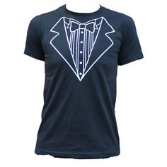 Tuxedo T Shirt by Lush T Shirts #Tuxedo #TShirt #FancyDress #TuxedoTShirt #Fashion #Mens
