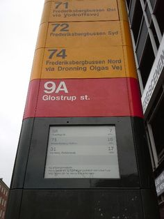 Busstops Denmark are fitted with PicoSign ePaper displays e ink E Paper Display, Bus Stop, All Over The World, Denmark, Signage, Engineering, Ink, Design