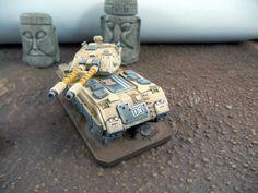 Heavy Gear Blitz NuCoal Voltigeur MBT collaboration by louisjrt and Riker2800.