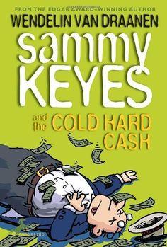 Sammy Keyes and the Cold Hard Cash by Wendelin Van Draanen, http://www.amazon.com/dp/0440421136/ref=cm_sw_r_pi_dp_6wU9rb01PVTXM