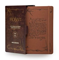 82c0f3f52 Moleskine Limited Edition Large Ruled The Hobbit Notebook Box Nutmeg Brown  | The Project Garments -