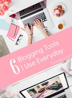 Blogging Tips | Blogging Tools | There is so much more to blogging than just writing and hitting publish. Learn about the 6 blogging tools we use every day and get set up to promote and grow your blog.
