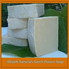 Abiyah naturals sweet potato soap-vegan soap