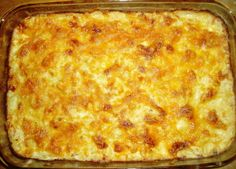 Cracker Barrel Hash Brown Casserole - Recipes, Dinner Ideas, Healthy Recipes & Food Guide-Carly wants to try it! Hashbrown Casserole Recipe, Hash Brown Casserole, Casserole Recipes, Potato Casserole, Casserole Kitchen, Chicken Casserole, I Love Food, Good Food, Yummy Food