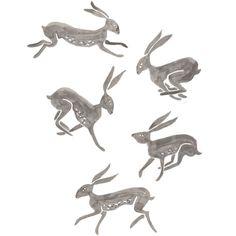 Jack Rabbits (from: http://iamyarnandglue.blogspot.com/)
