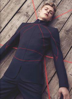 Modeconnect.com - Kris Van Assche for Dior Homme F/W 2013 // Janis Ancens by Jacob Sutton for Numero Homme