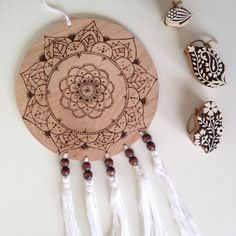 This item is unavailable Graphic Design Projects, Wall Plaques, Wooden Beads, Dream Catcher, Im Not Perfect, Tassels, Trending Outfits, Unique Jewelry, Handmade Gifts