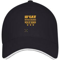 3621 Bayside USA Made Structured Twill Cap With Sandwich Visor-Baffalo