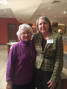 LLL Founder Marian Tompson and me in Sligo Ireland, where we both spoke at LLL Ireland's 50th Anniversary conference in March 2016.