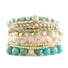 Easy Breeze Stack Bangles